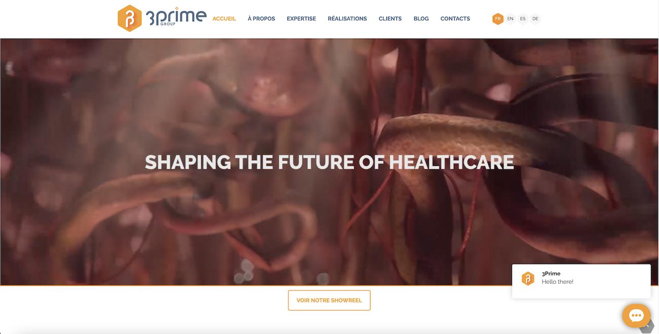 Trois Prime   Site Web