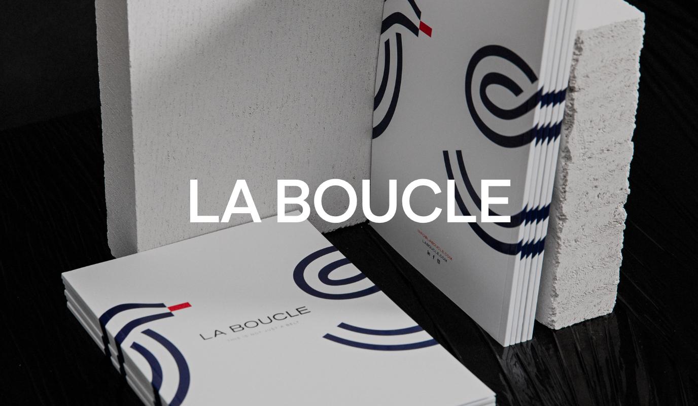 La Boucle - Branding, Content & Eshop - E-commerce