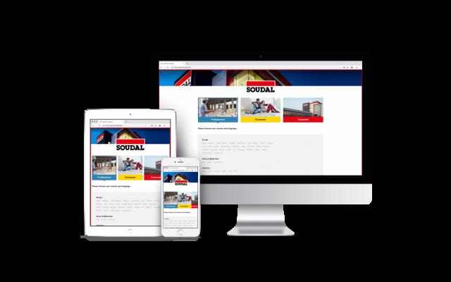 Soudal - multilingual websites + SEO optimization - Website Creatie