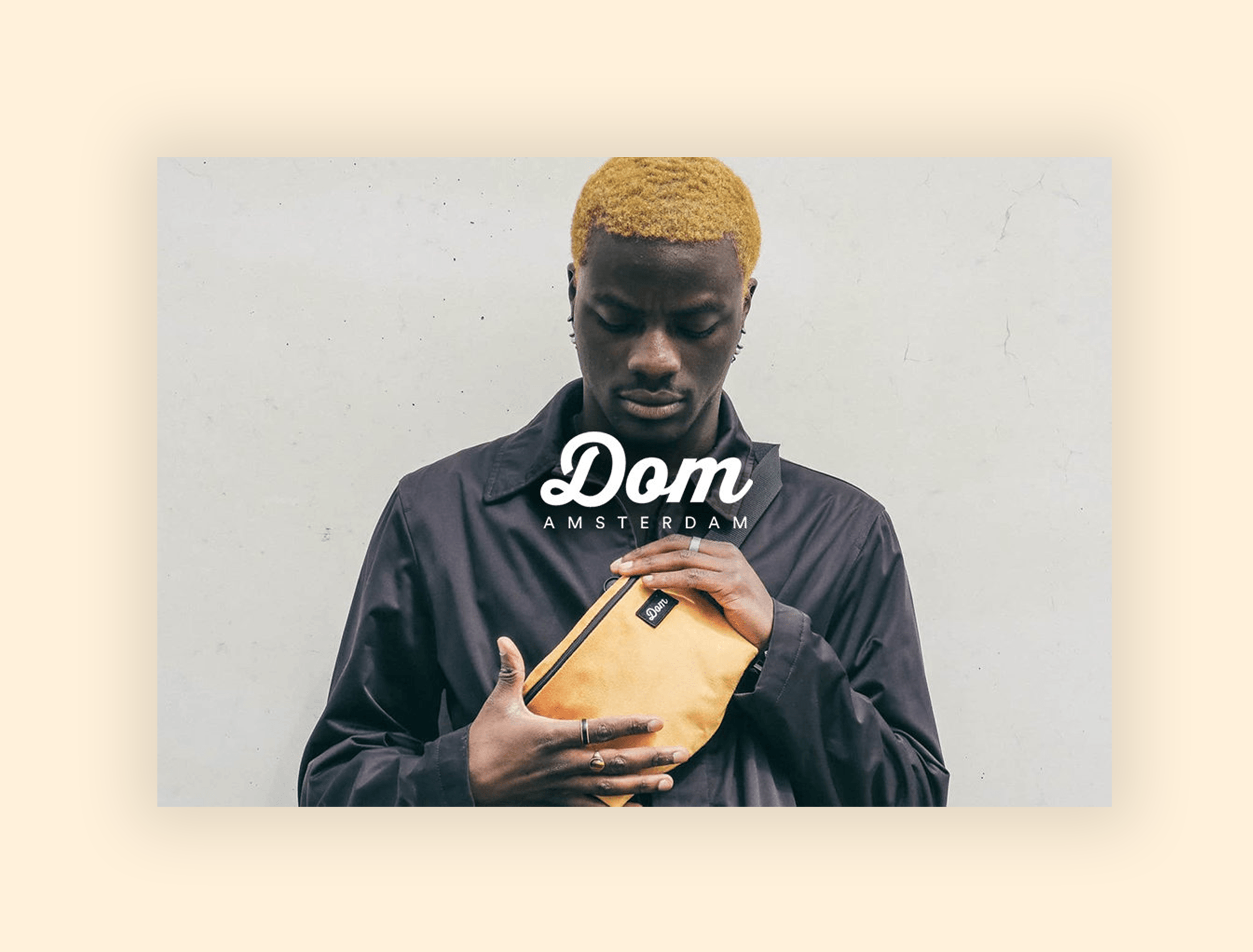 Dom Amsterdam - Shopify Webshop