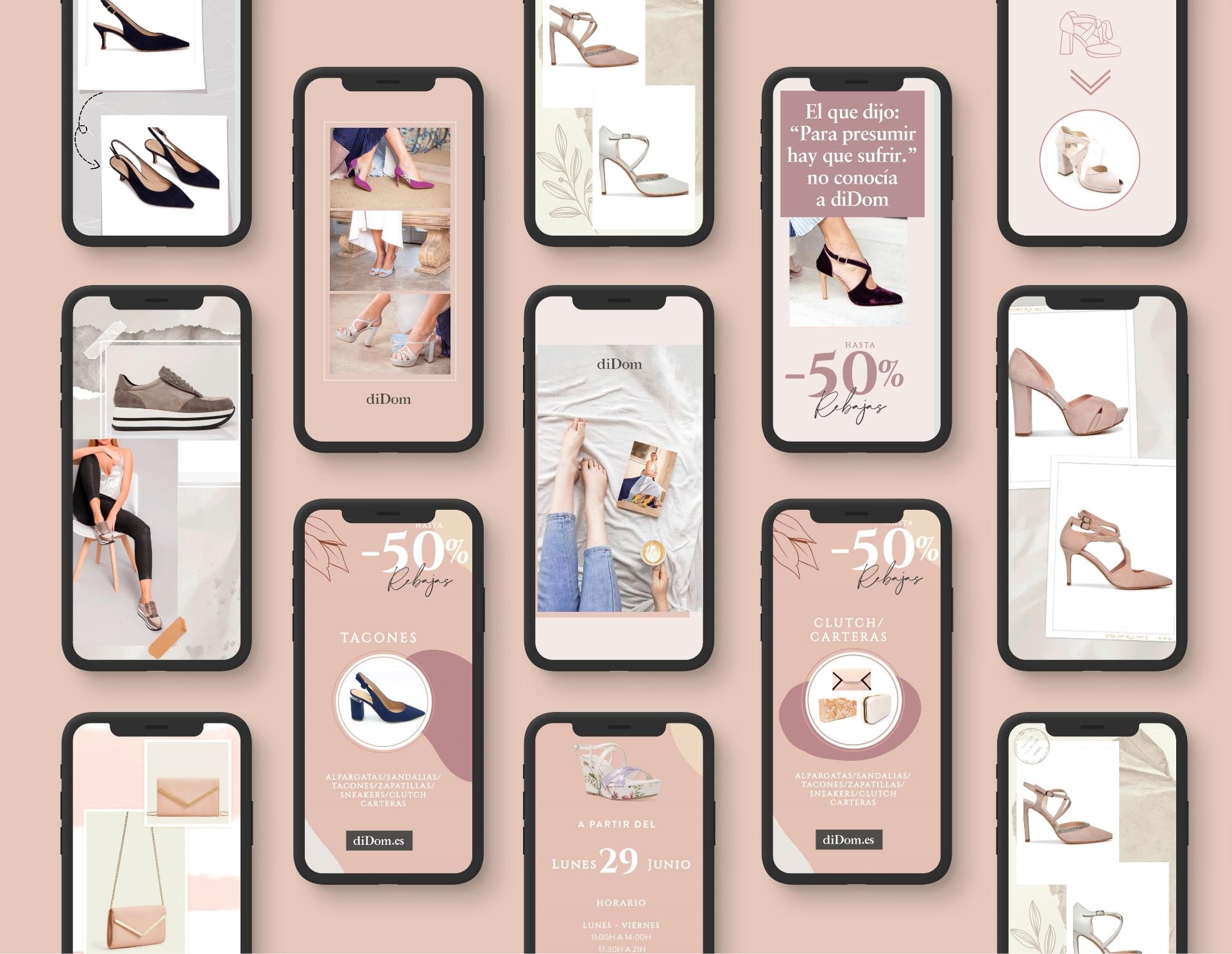 Diseño de Redes Sociales - Tienda Online - Redes Sociales