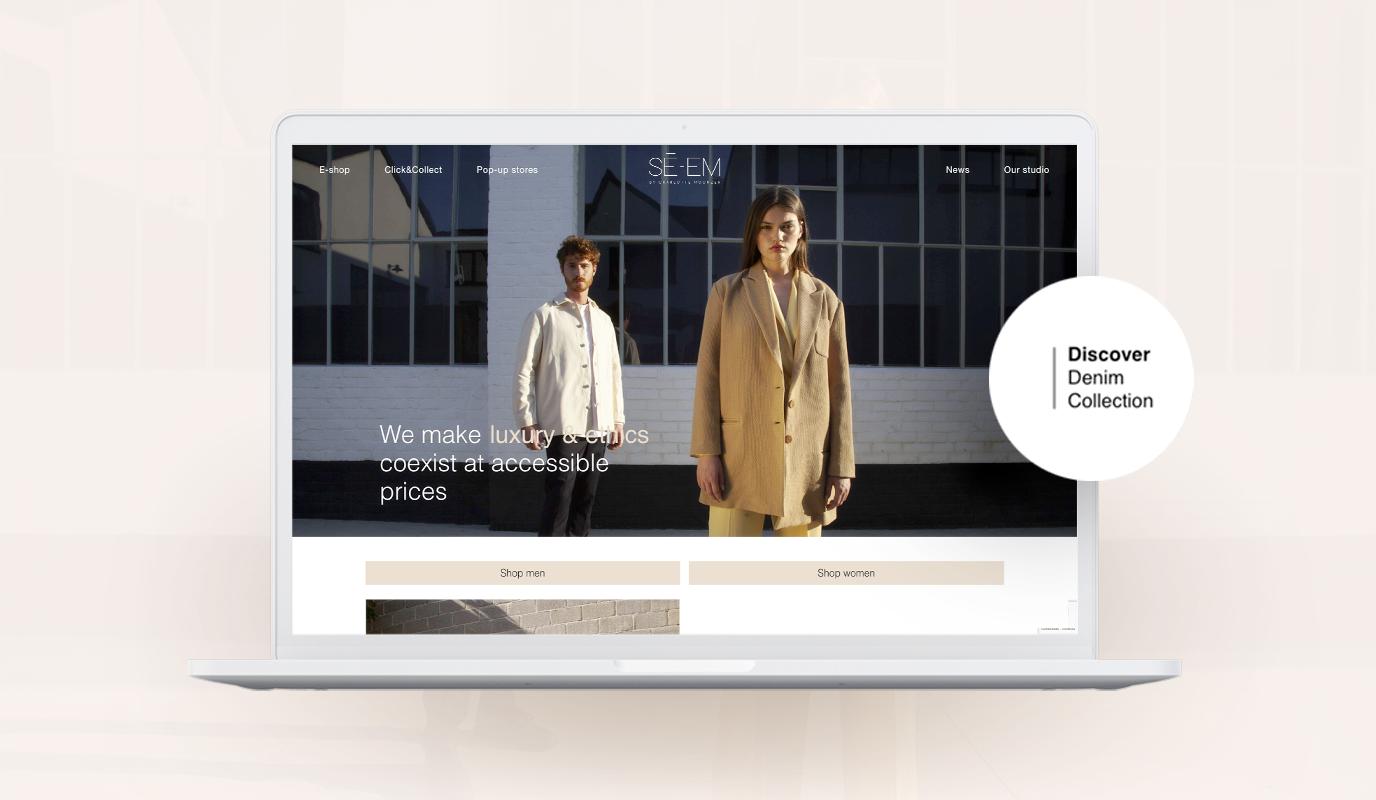 Un e-commerce en Wordpress - Website Creatie