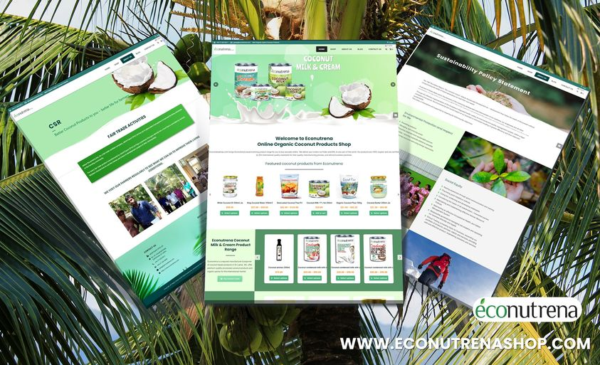 Econutrenashop - Website Creation
