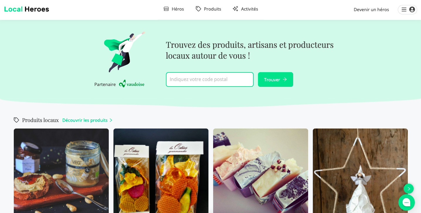 Supporting local economy by developing a web app - Stratégie digitale