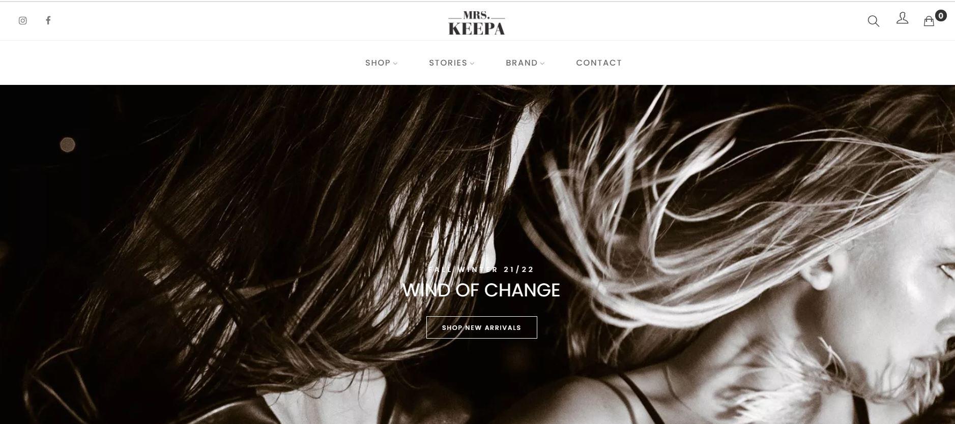 mrskeepa.com - Website Creation