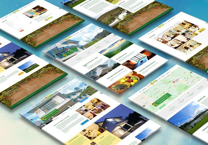 The website of Golden Grove Villa Hotel - Website Creation