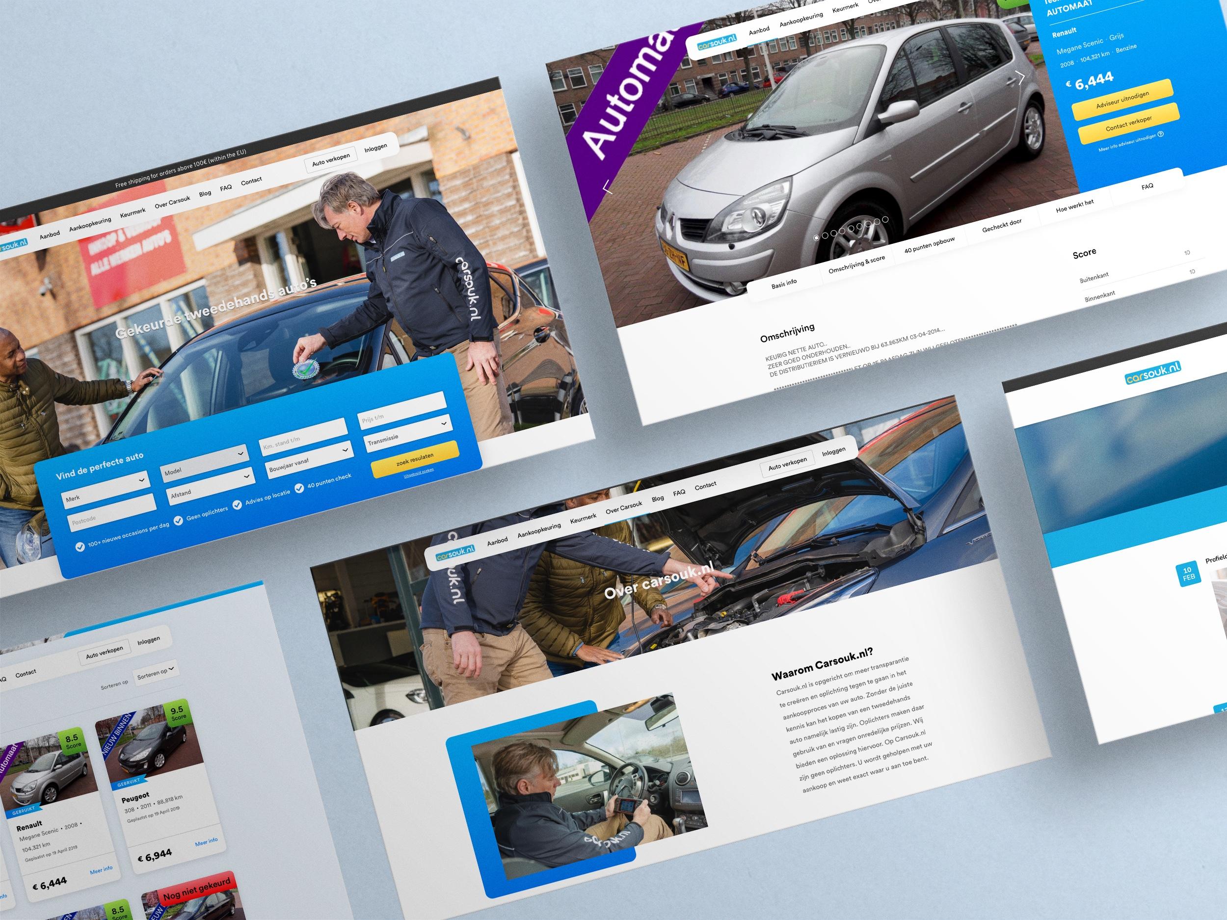 Carsouk - Website / Online Marketplace