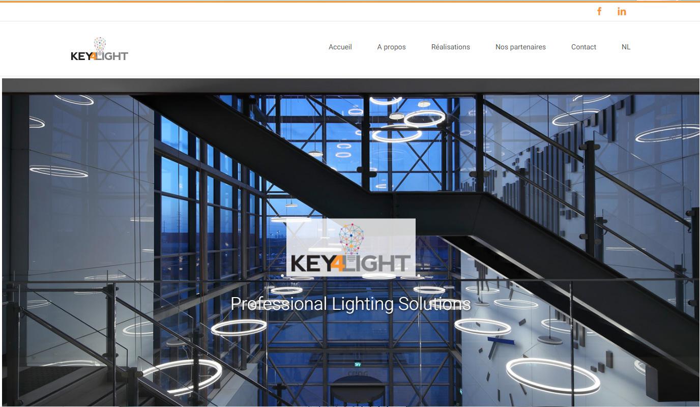 Key4light - Création de site internet