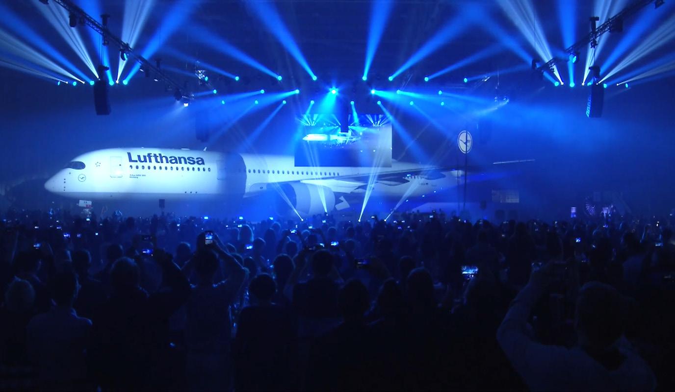 Lufthansa – A350 Launch