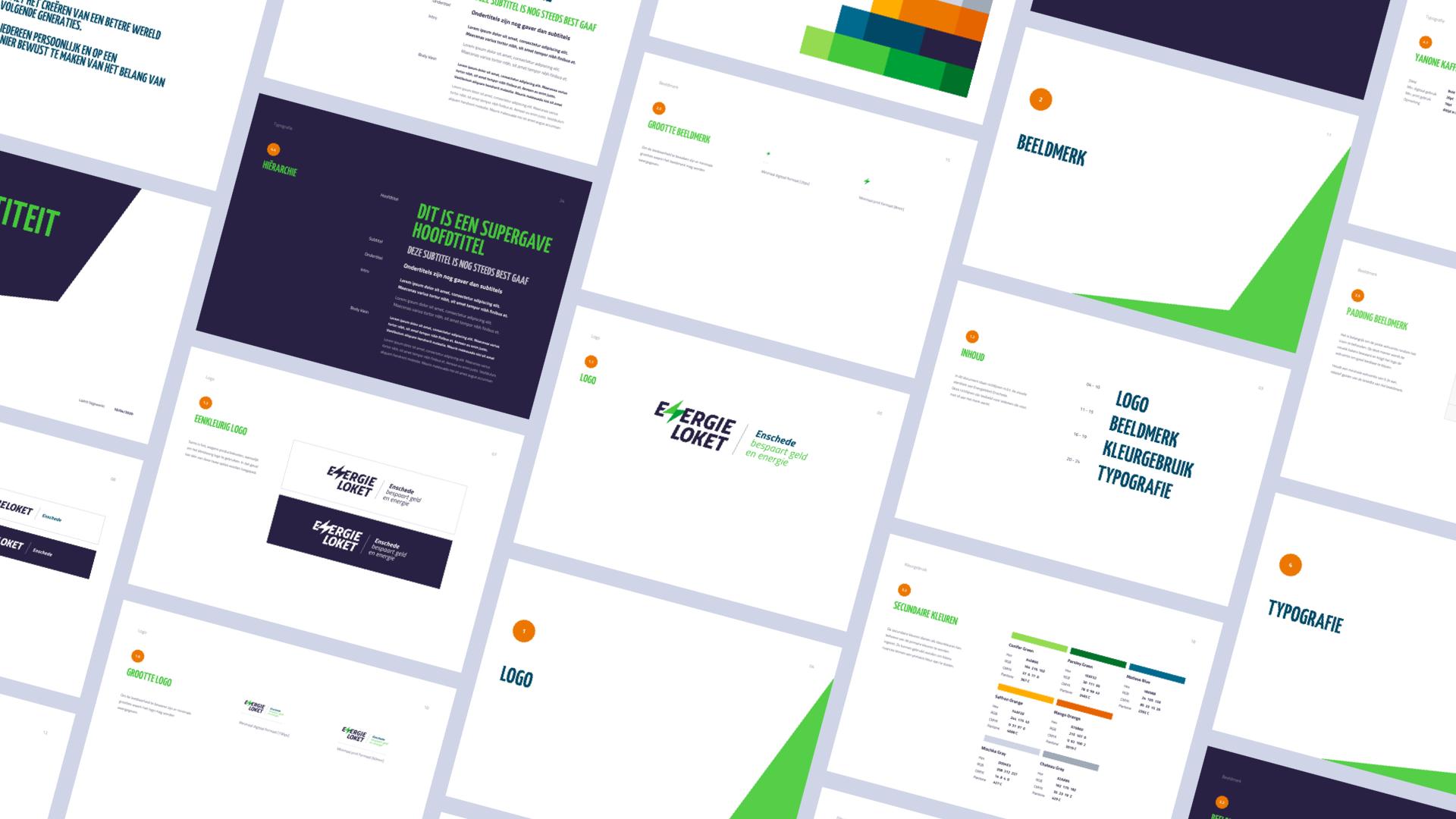 Energieloket Enschede: Recharge Energy Efficiency - Website Creatie