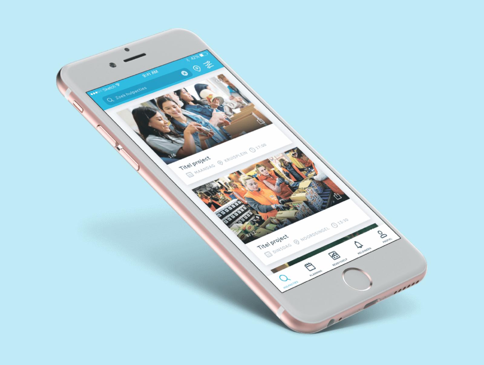 RodeKruis: Ready2Help - Mobile App