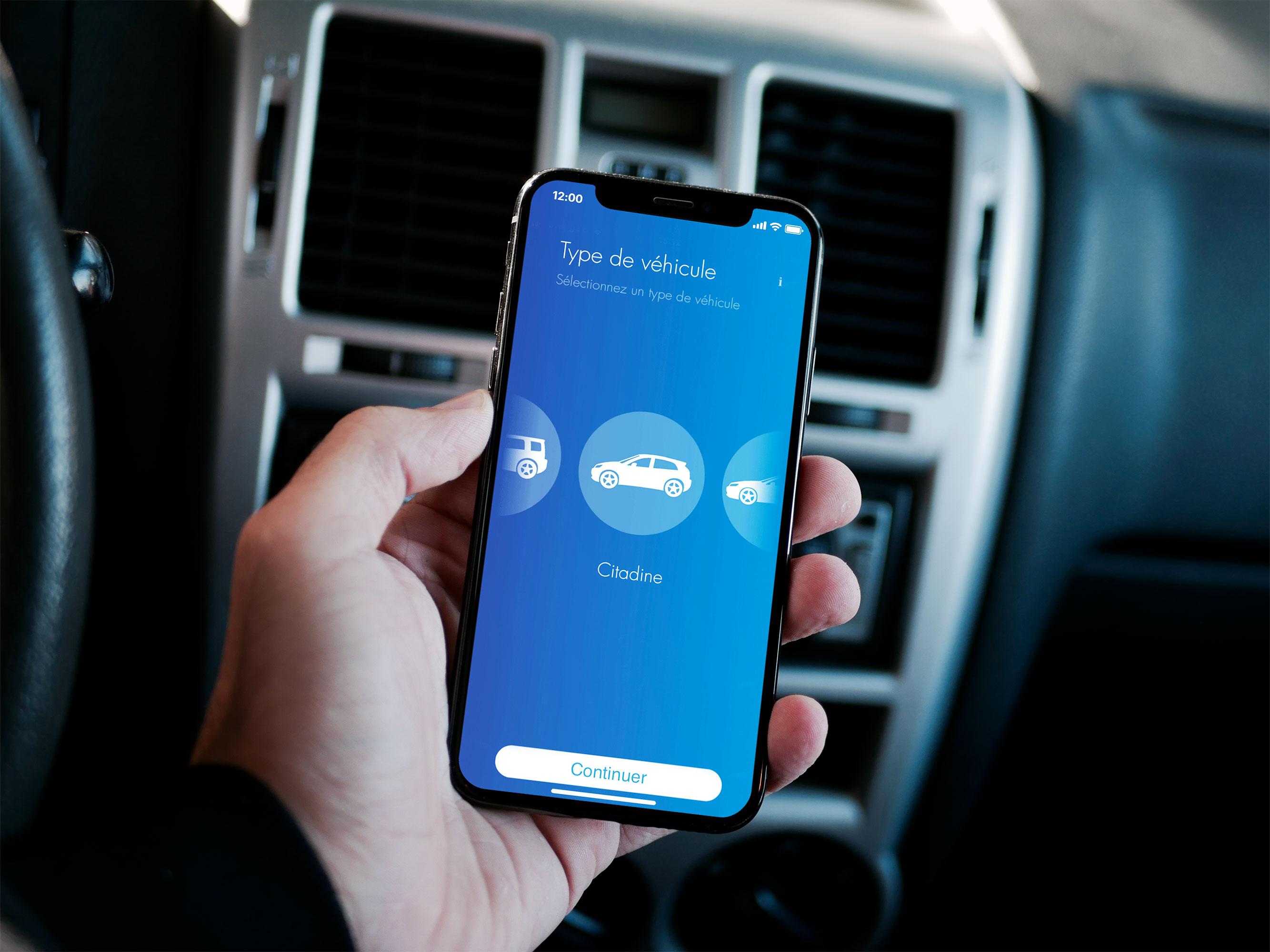 Application mobile - SG Car