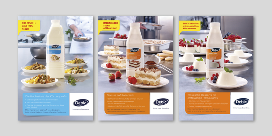 FrieslandCampina - Anzeigenkampagne
