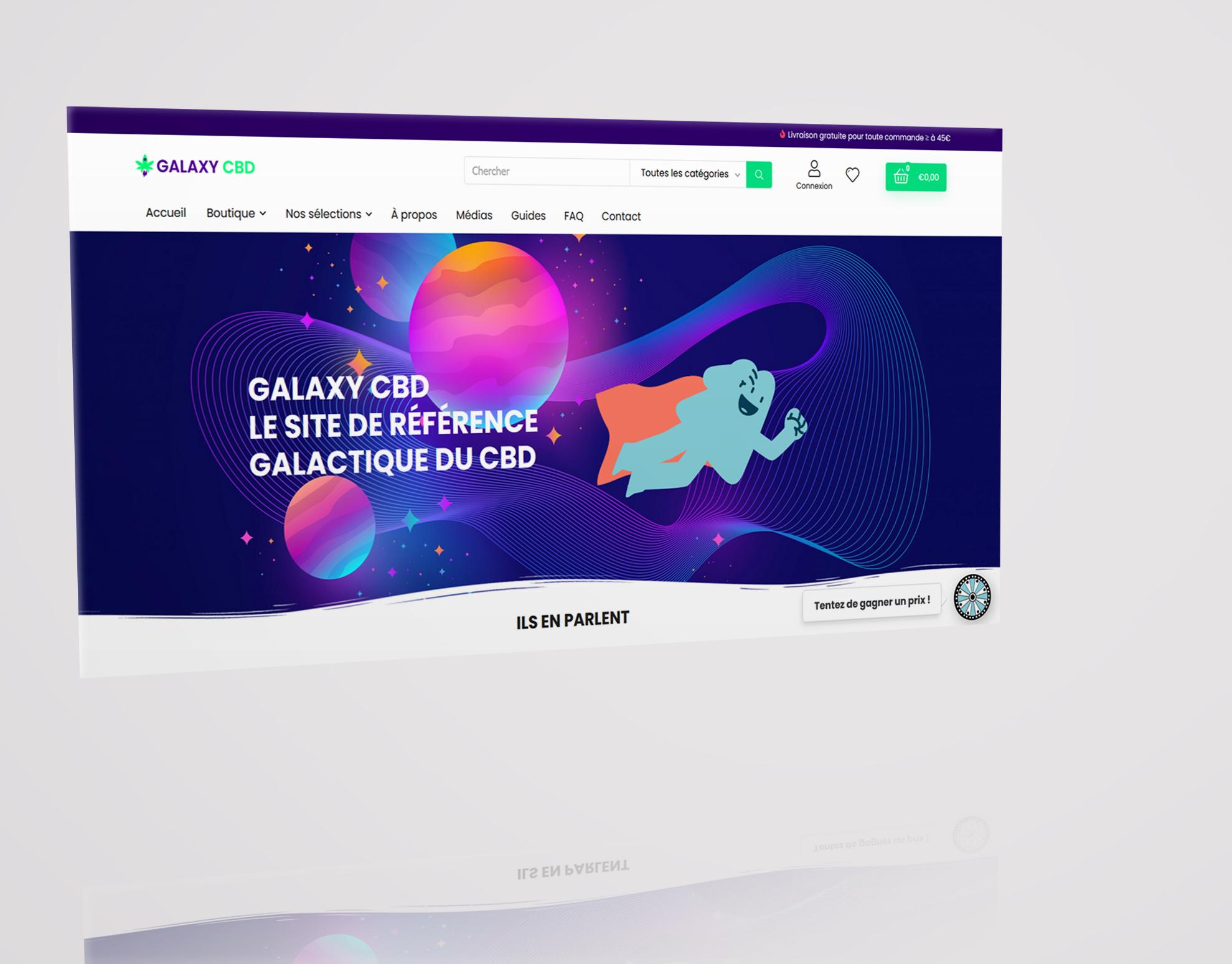 GALAXY CBD - E-commerce