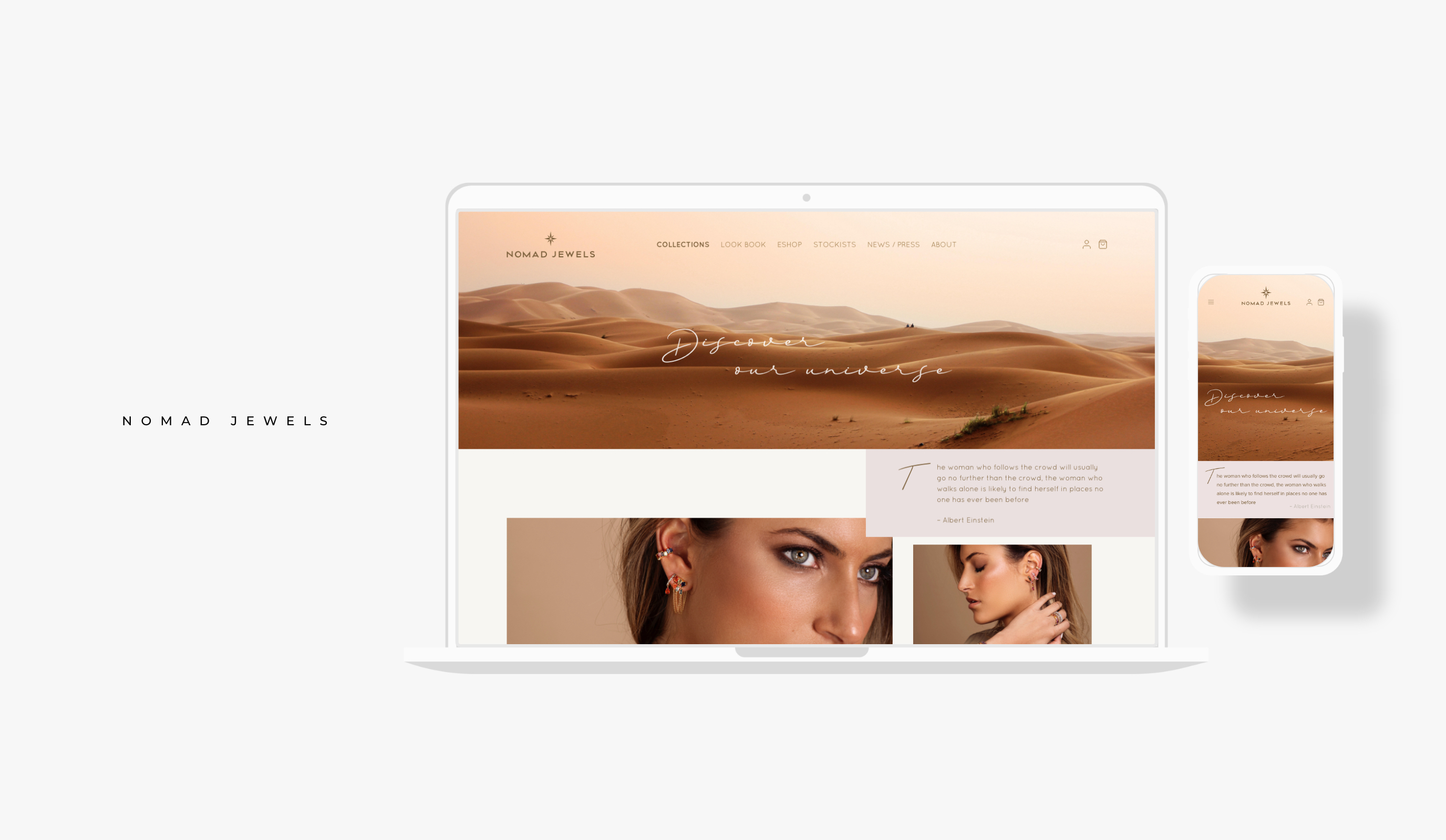 Nomad Jewels - Stratégie digitale