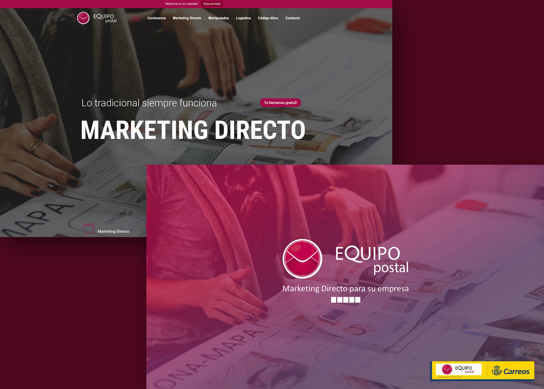 Creación de web + Branding & Posicionamiento marca