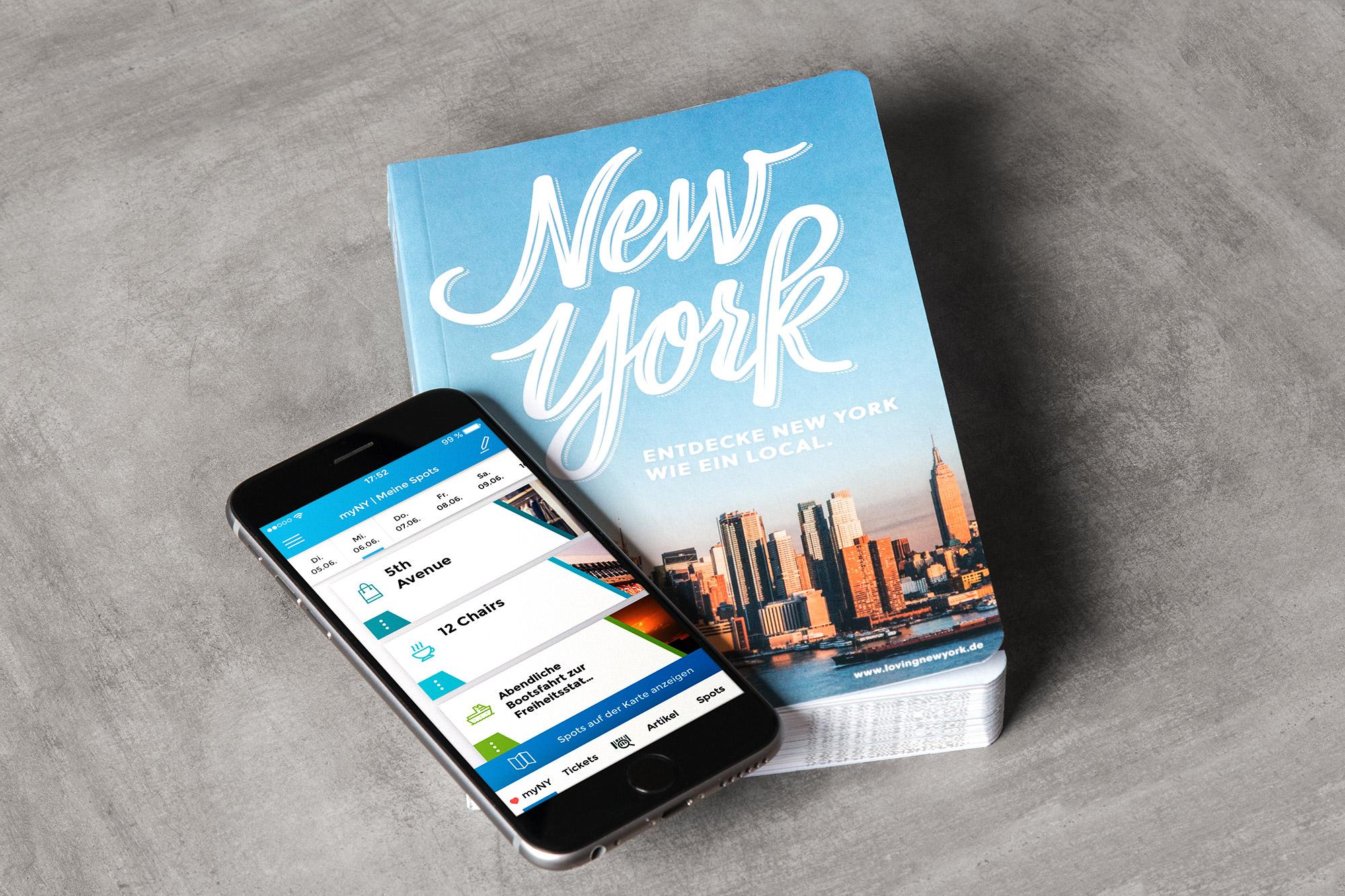 Loving New York - der multimediale Reiseführer