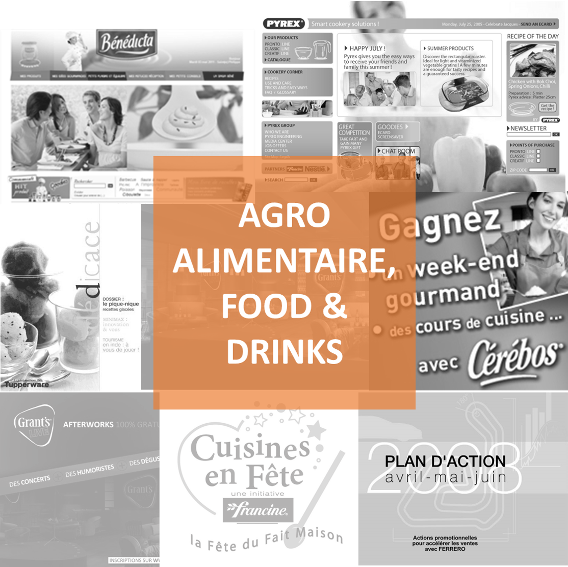 Agroalimentaire, food and drinks