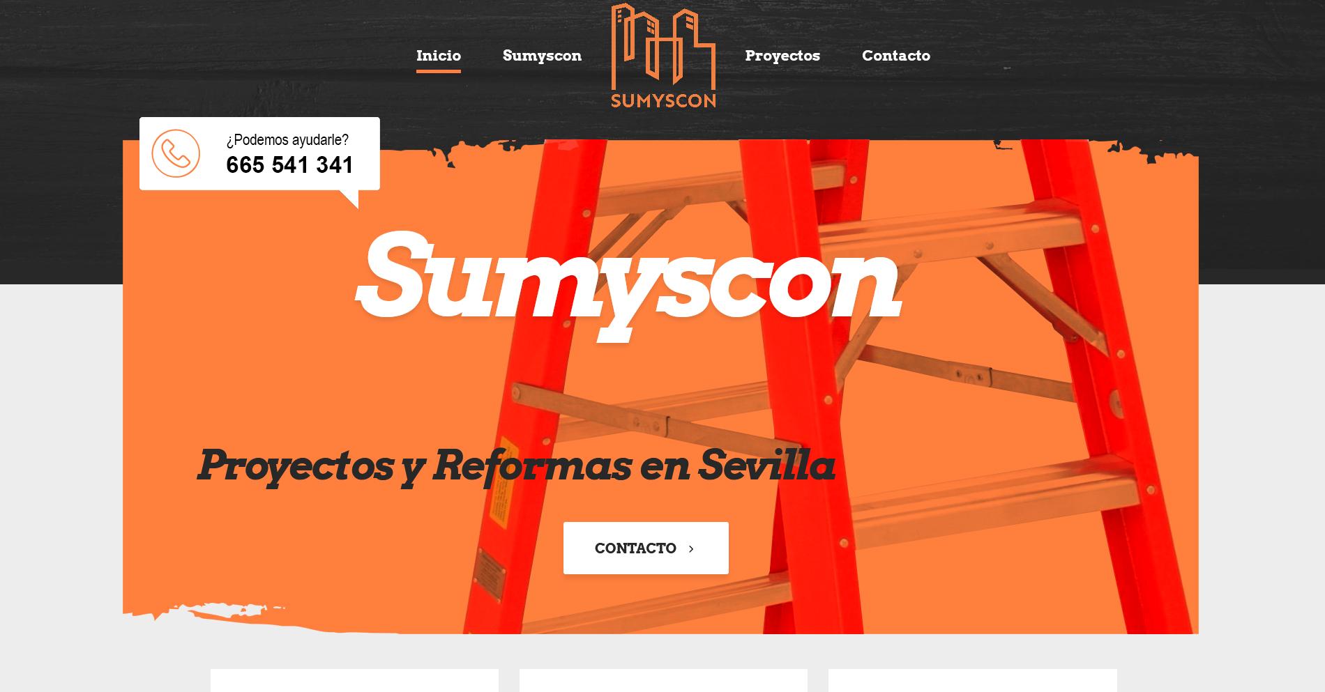 Diseño Web empresa de reformas - Creación de Sitios Web