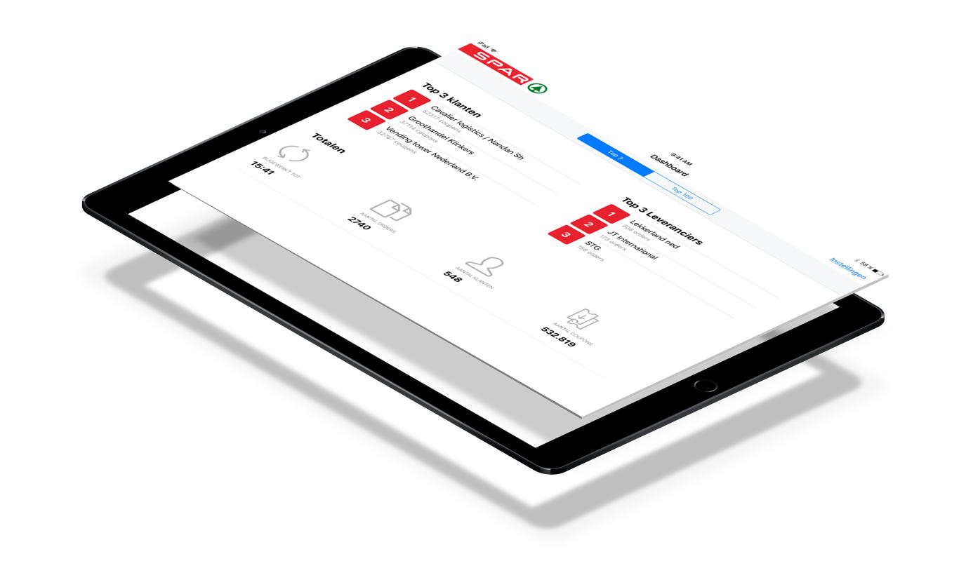 SPAR: iPad application