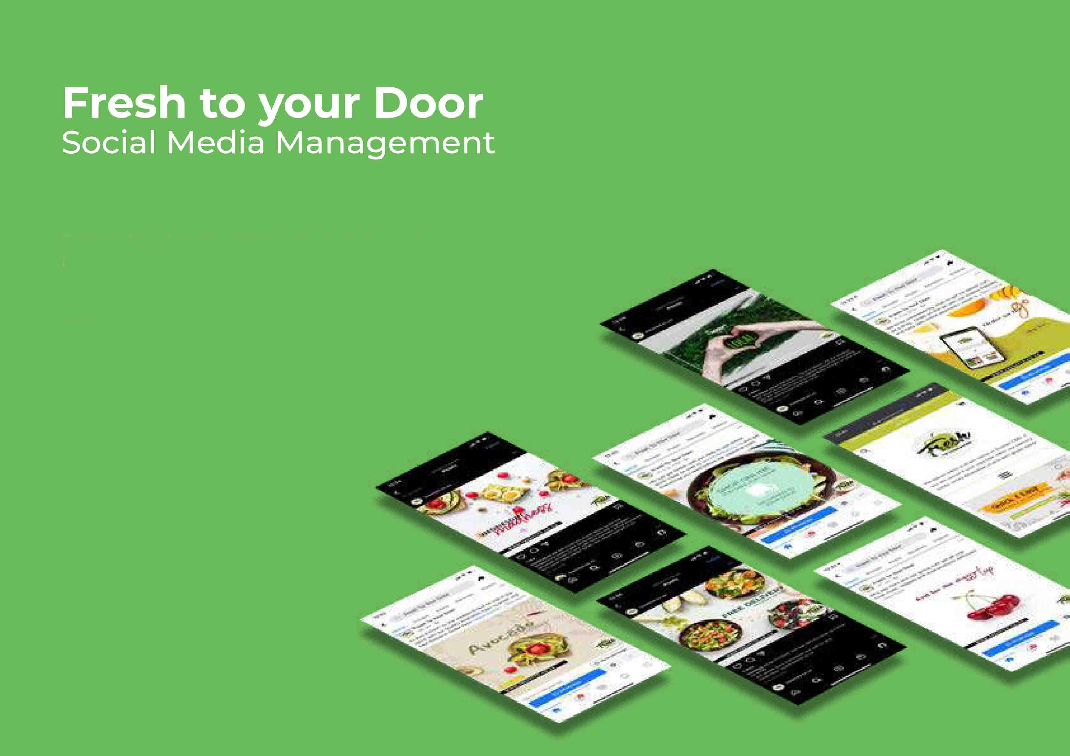 My Fresh Online - Website Creation