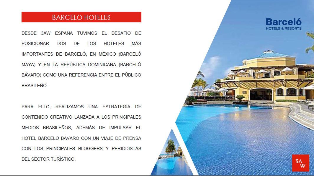 BARCELO HOTELS - RELACIONES PÚBLICAS - Relaciones Públicas (RRPP)