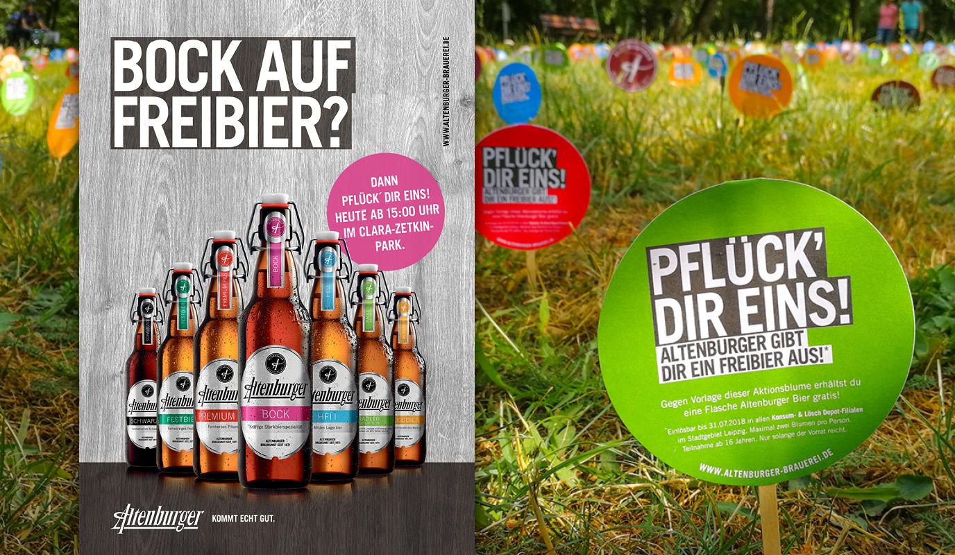 Altenburger Blume Promotion
