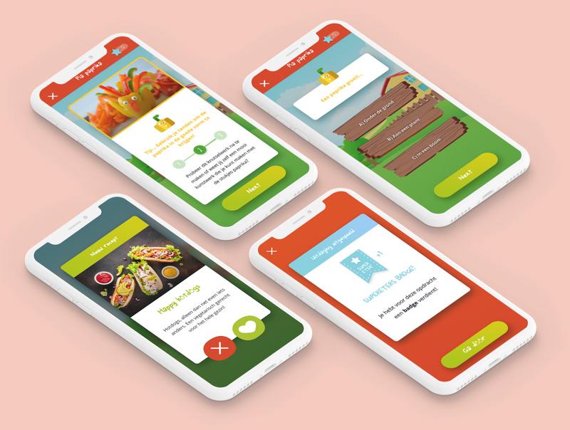 Supereters: gezonde gewoontes bij kids - Mobile App
