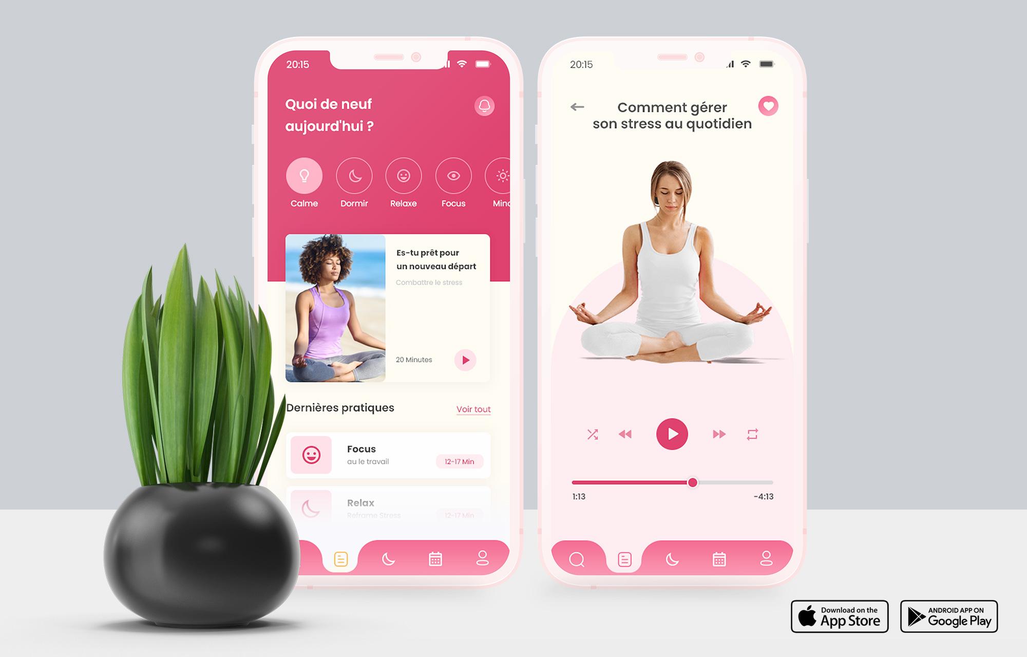 Focus | Application Web - Application mobile