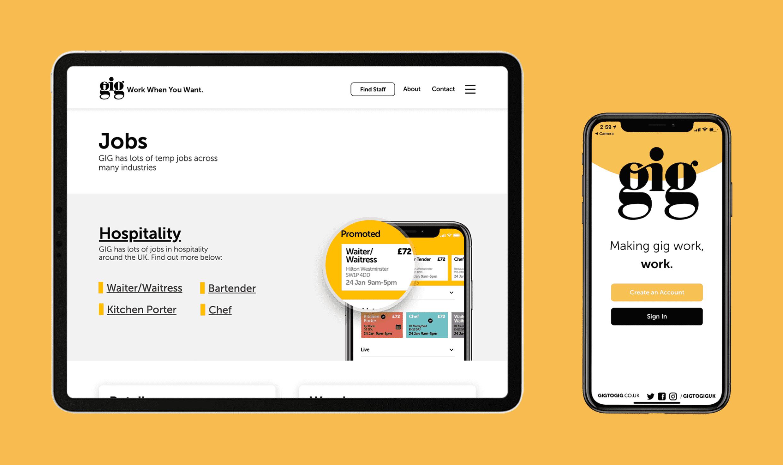 Gig - Human Resource App - Mobile App