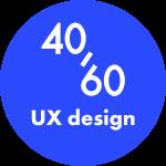 40/60 studio logo