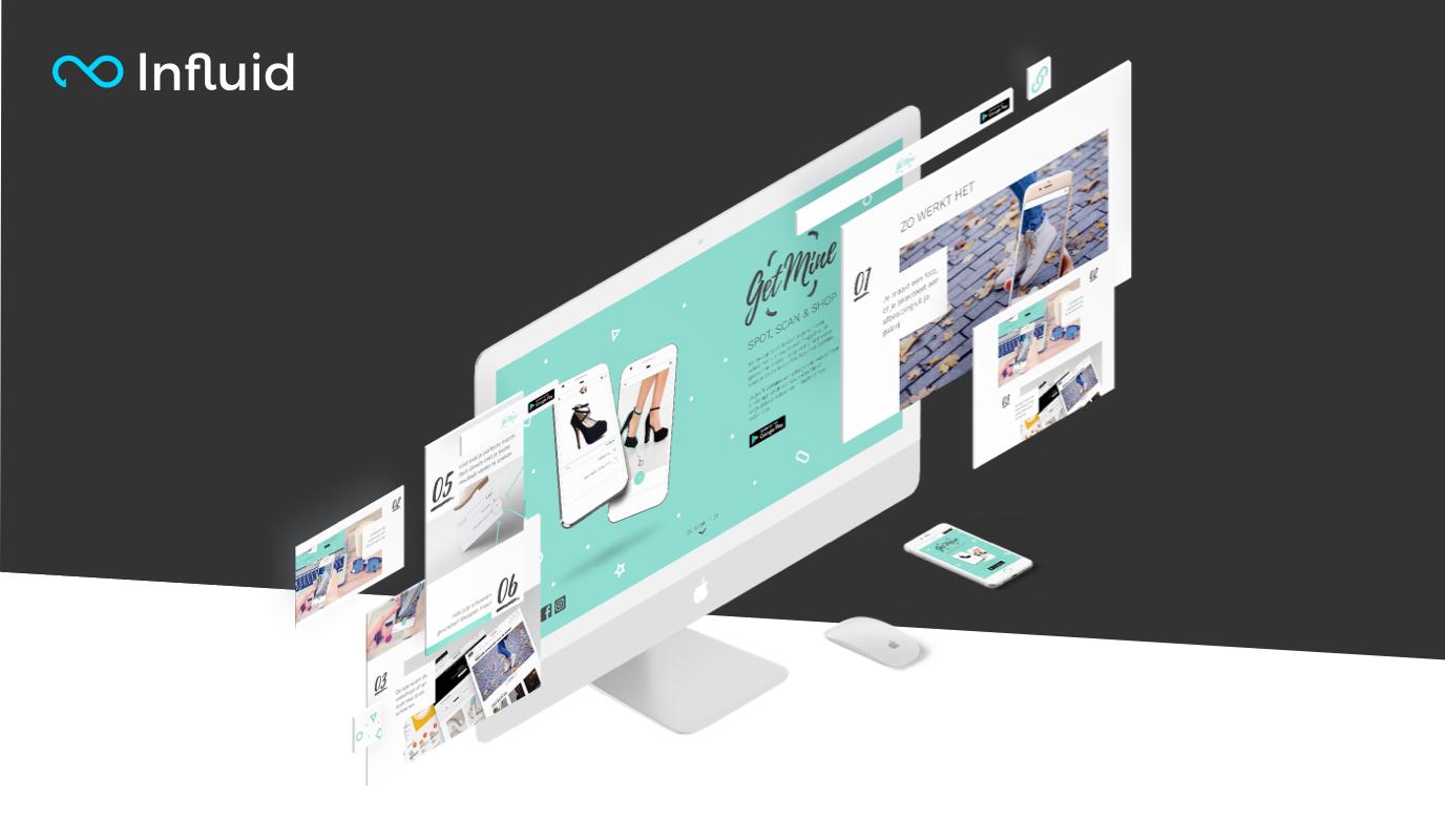 UI/UX for virtual reality shoe application - Website Creatie
