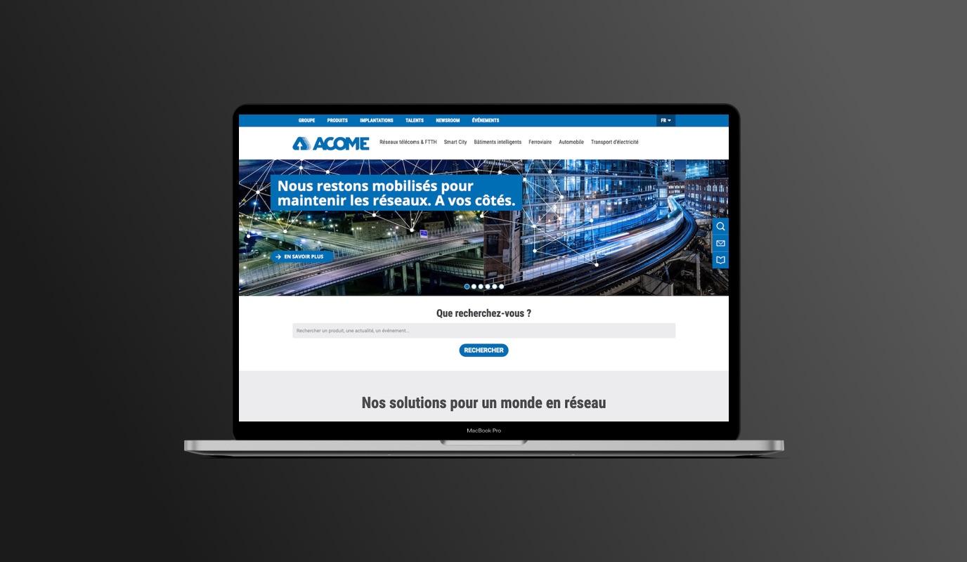 Acome - Audit, AMOA Technique, Audience, Social - Réseaux sociaux
