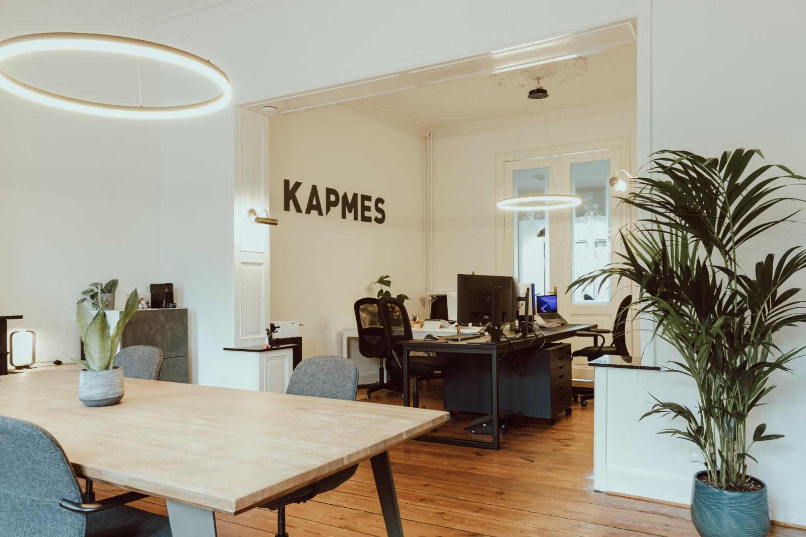 KAPMES branding bureau cover