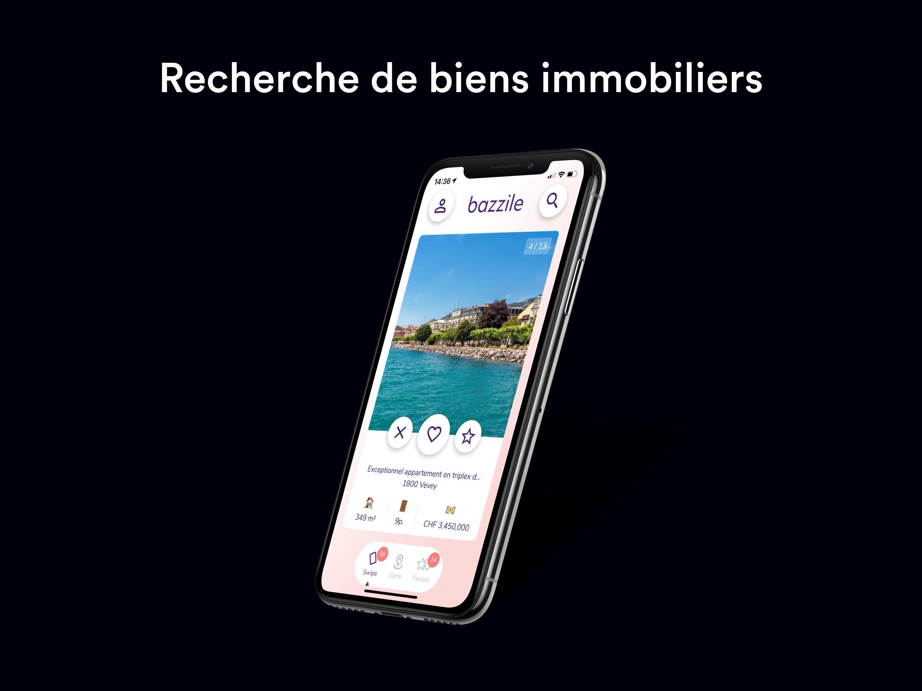 Bazzile - Application mobile
