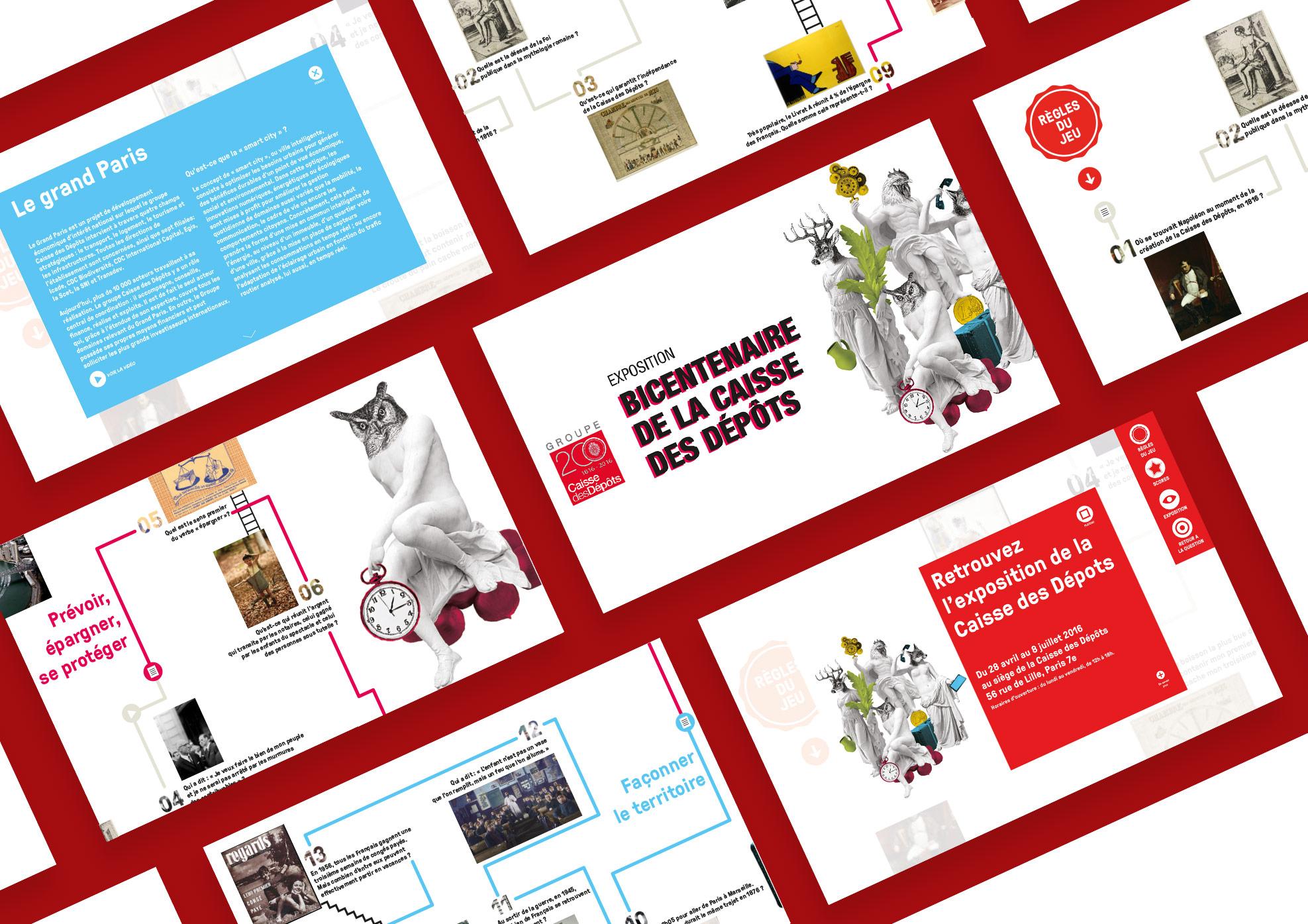 Caisse des Dépôts   Webapp - Application mobile