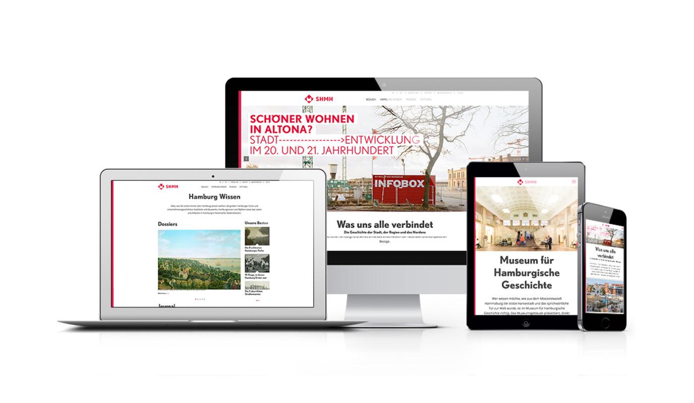 Webportal Historische Museen Hamburg