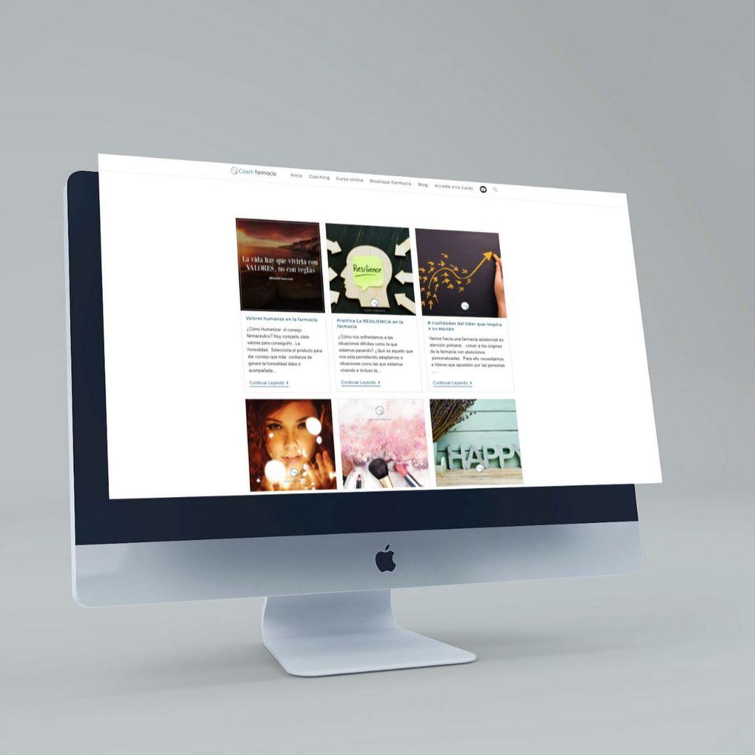 Página multiplataforma - Estrategia digital