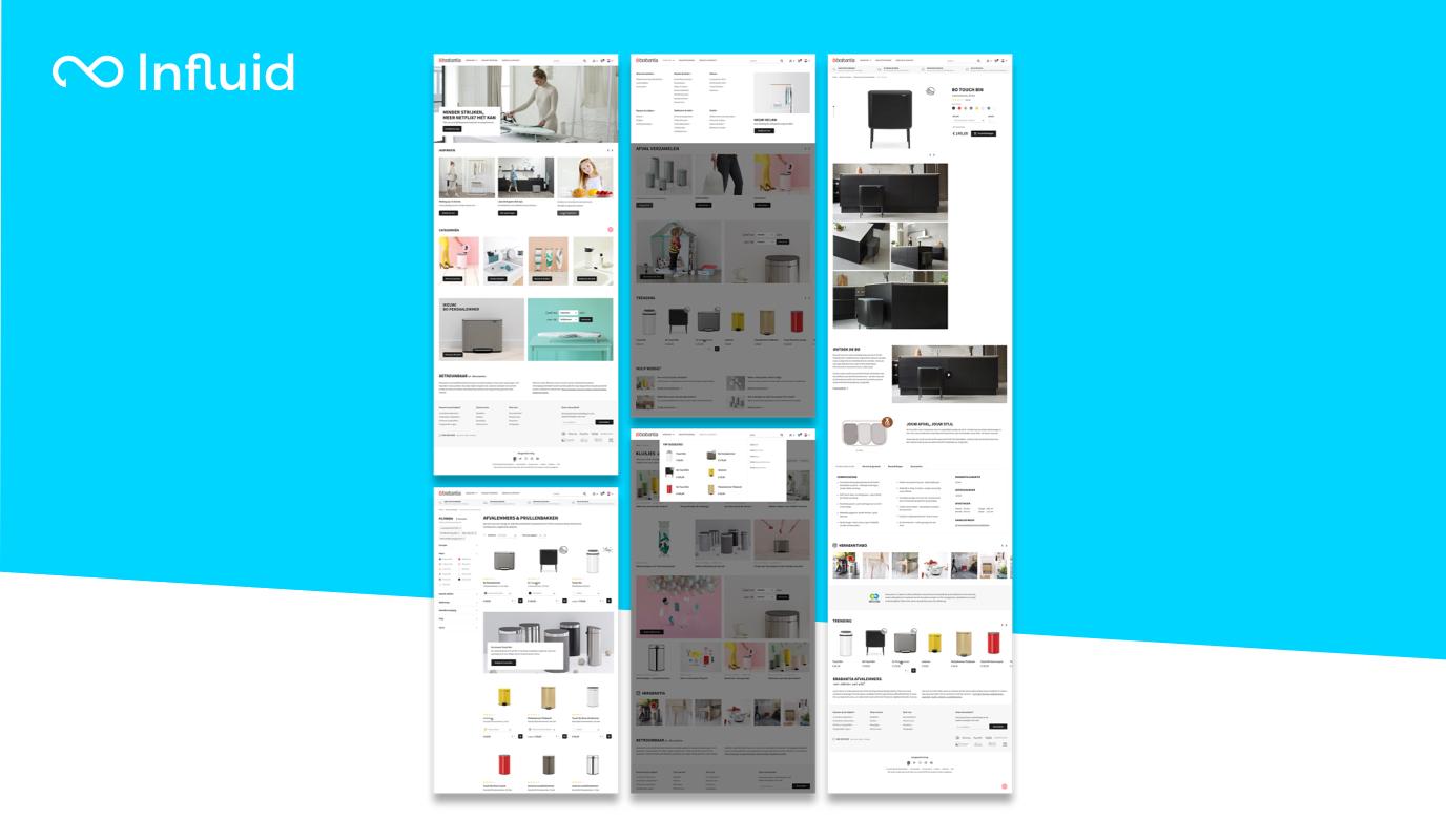 UI/UX study case for Dutch leading brand - Website Creatie
