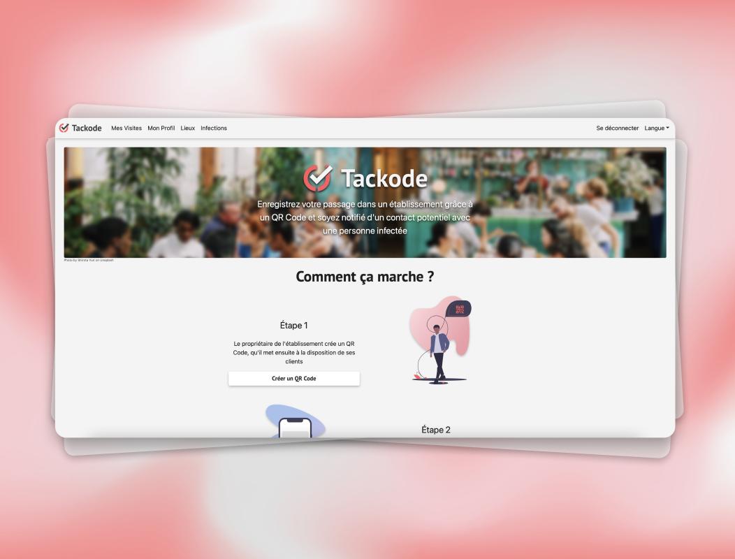 Tackode   Site Web - Création de site internet