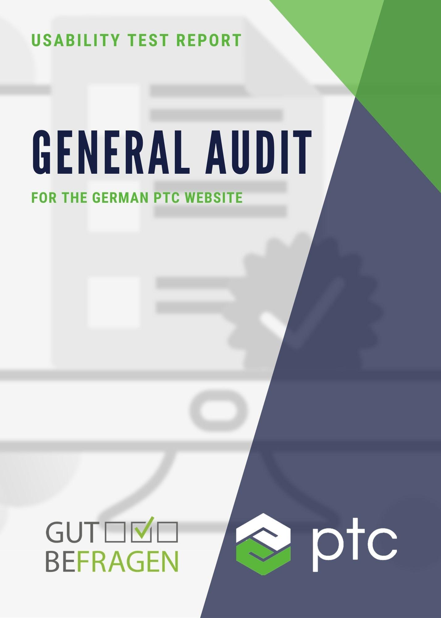 UX-Audit for a german website - Ergonomie (UX/UI)
