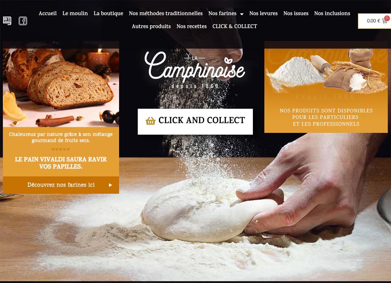 Moulin La Camphinoise - E-commerce