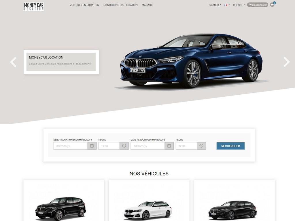 Moneycar - E-commerce