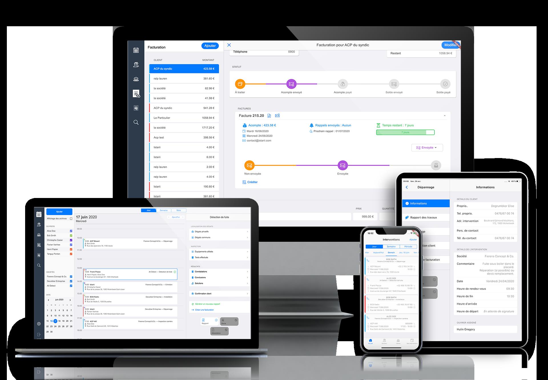 Wowlist - F&P - ERP sur mesure - Application mobile