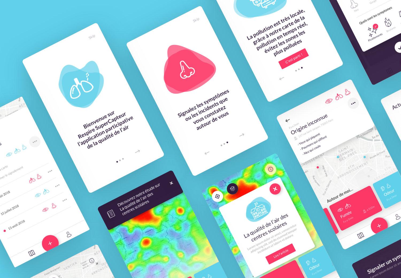 Respire - Application mobile