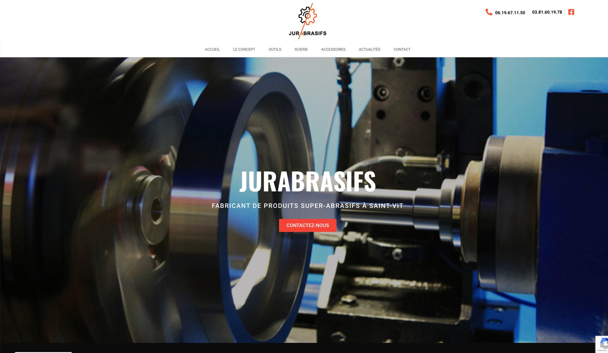 Jurabrasifs, création de site web - Création de site internet
