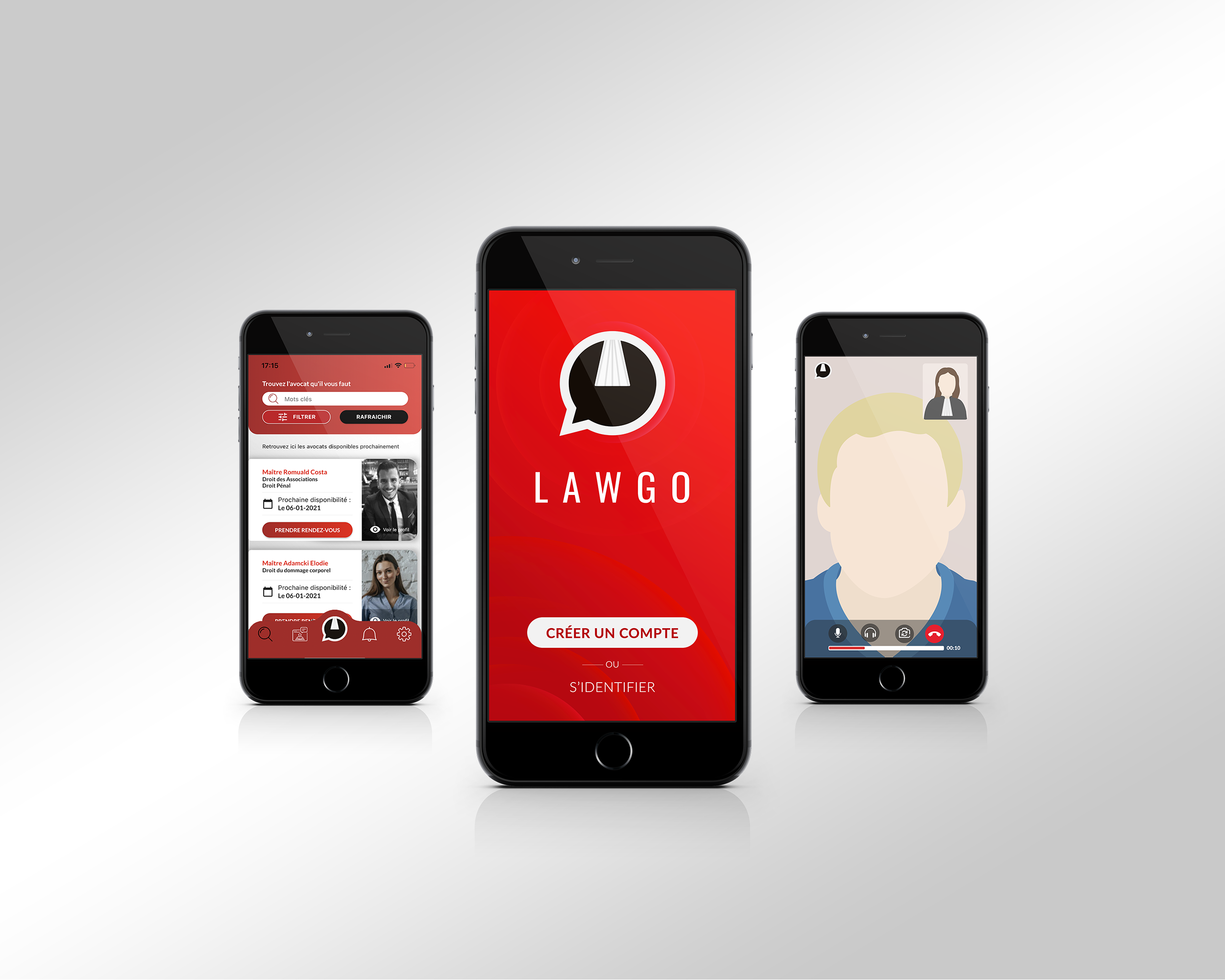LAWGO   App iOS & Androïd [FLUTTER] - Application mobile