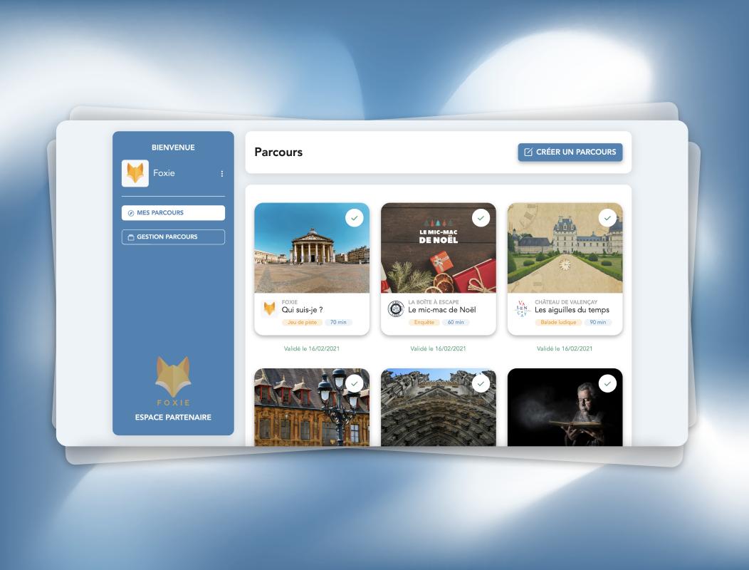 Foxie CMS   Application Web - Création de site internet