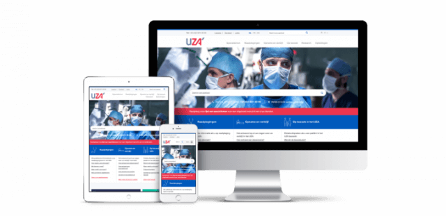 UZA - search results accuracy  from 55% to 91% - Website Creatie