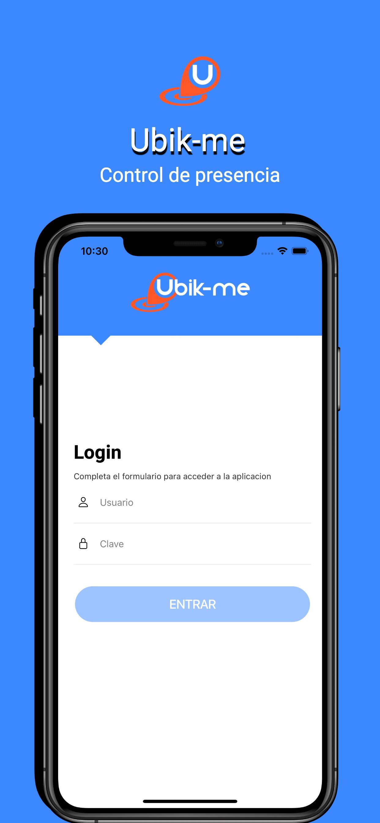Ubik -Me - Aplicación Web